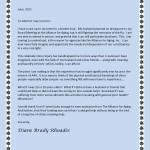 Diane's letter