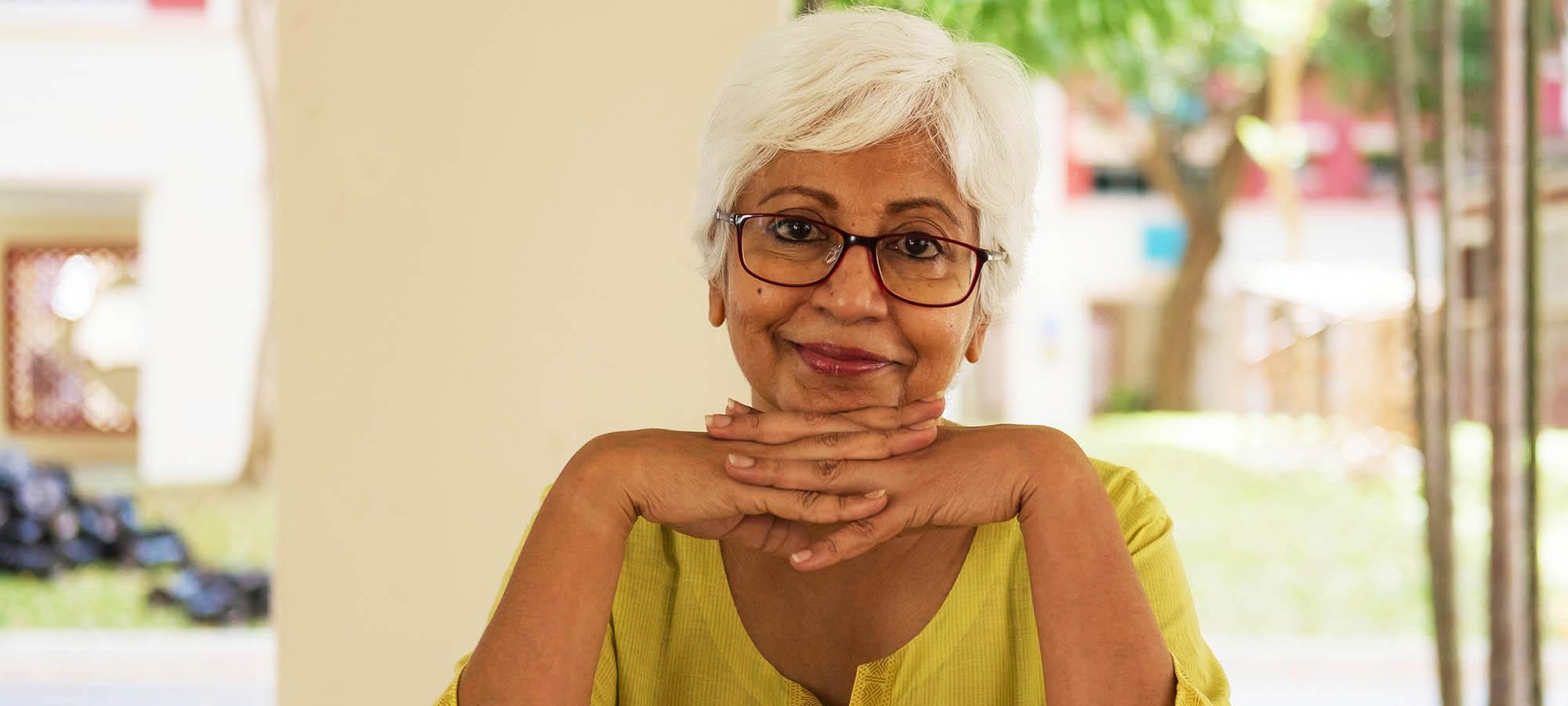 Nice Photo of Elderly Woman